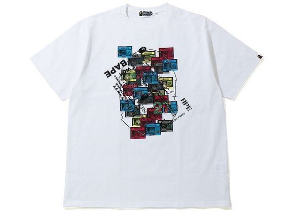 BAPE 27th Anniversary Relaxed Tee White