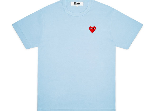 Comme des Garcon Red Play Blue T-Shirt
