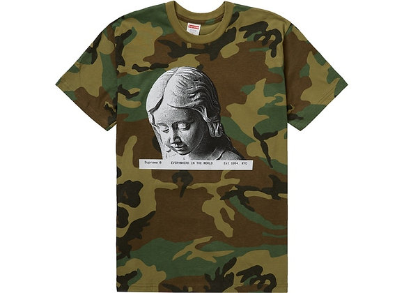 Supreme Everywhere Tee Woodland Camo