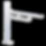 pressalit-adjustable-toilet-support-rail
