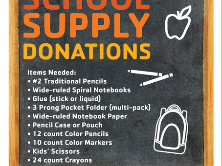 Back To School Drive YMCA - Haven for Hope Families