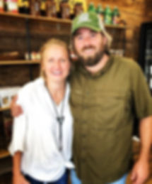 Chris & Kate Conger Owners of Smoke Shack Family