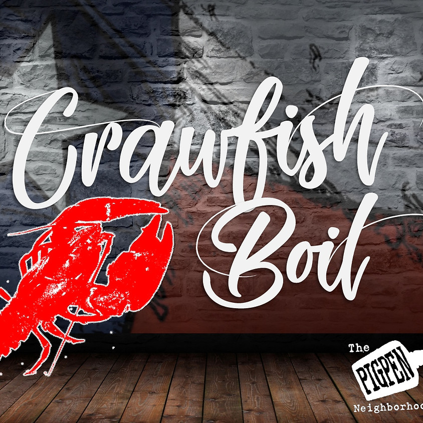 2nd Annual Crawfish Boil