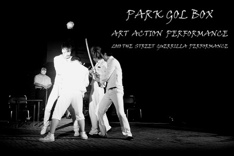 THE STREET ART ACTION PERFORMANCE . 2010
