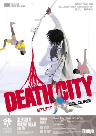 DEATH CITY(version no.2) . 2017