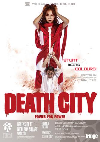 DEATH CITY(version no.1) . 2017