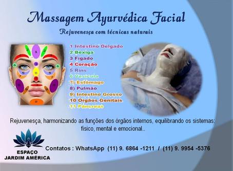 Massagem Ayurvédica Facial - Helenicia Mattos