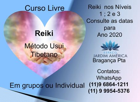 Cursos Livre - Seminário de Reiki