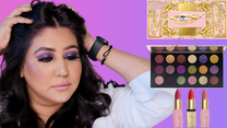 PAT MCGRATH MTHRSHIP MEGA CELESTIAL DIVINITY EYESHADOW PALETTE REVIEW/TUTORIAL