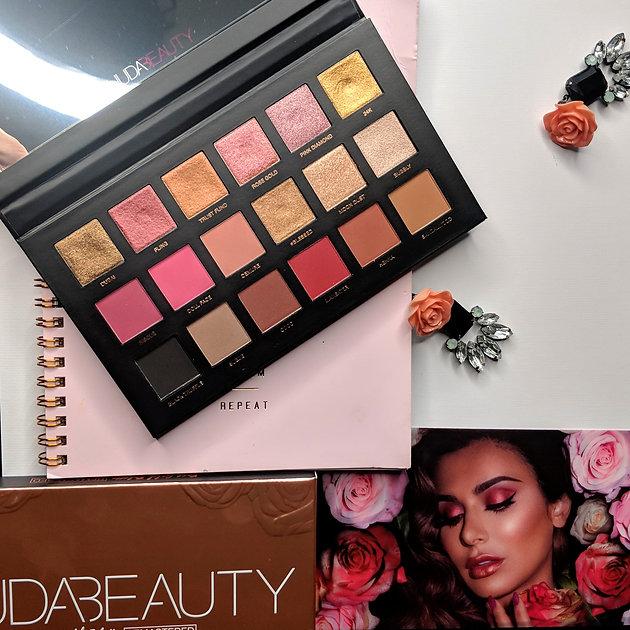 Huda Beauty Rose Gold Palette Remastered Dubai Based Beauty