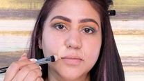 Make wrinkles/fine Lines and Laugh Line disappear with this trick