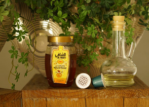 Natural Face Mask - Olive oil, Honey and coffee
