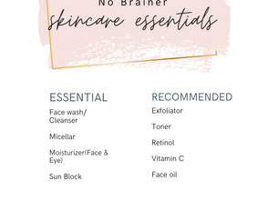 Your Essential and Recommended Skincare Products Explained