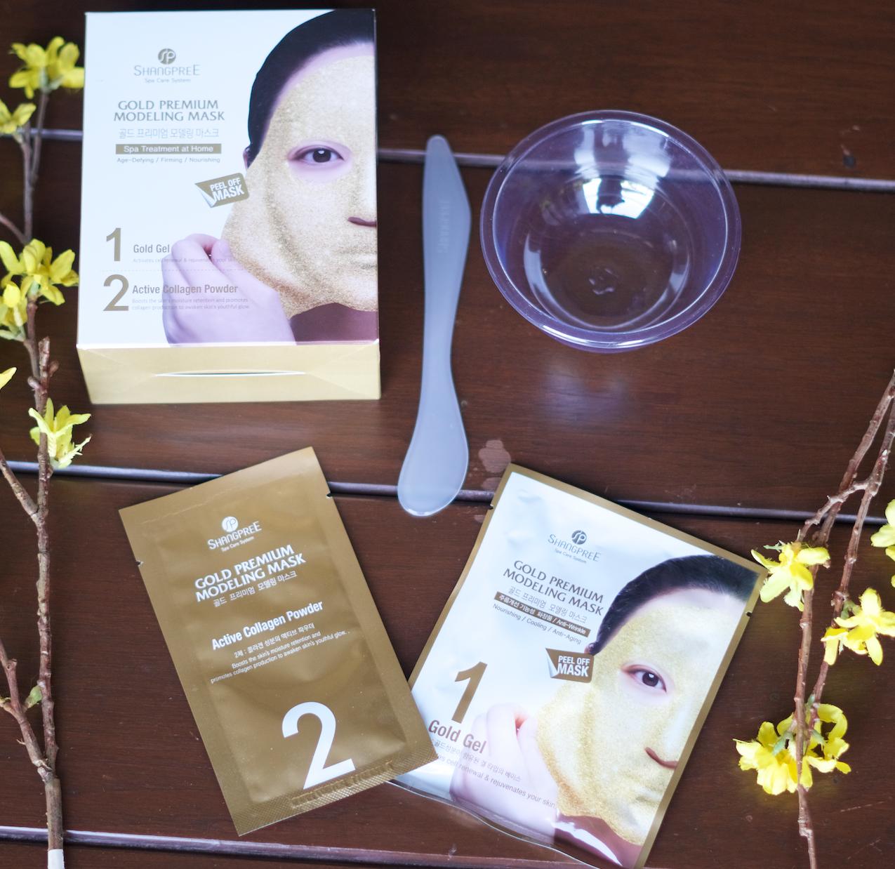 korean golden mask