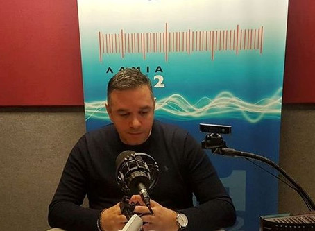 Ο Θέμης Χειμάρας για την ΠΕΛ και τις ελιές Καλαμών στον Λαμία FM1
