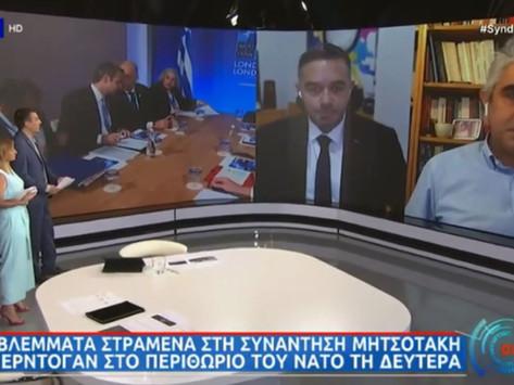 """Ο Θέμης Χειμάρας στην εκπομπή """"Συνδέσεις"""" της ΕΡΤ για το εργασιακό και τα ελληνοτουρκικά"""