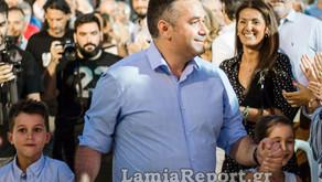 Κεντρική Προεκλογική Ομιλία του Υποψήφιου Βουλευτή Φθιώτιδας Θέμη Χειμάρα
