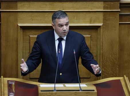 """Θέμης Χειμάρας στη Βουλή: """"Οι ευθύνες για τη ΛΑΡΚΟ βαραίνουν όλες τις προηγούμενες Κυβερνήσεις"""""""