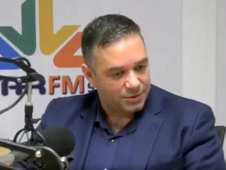 Ο Θέμης Χειμάρας στην Όλγα Λαθύρη STAR FM 97,1