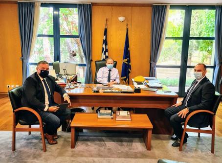 Ολοκληρωμένο σχέδιο διαχείρισης του Σπερχειού ζήτησε ο Θέμης Χειμάρας από τον Υπουργό Υποδομών