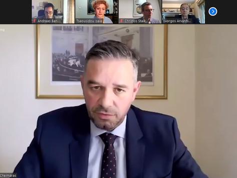 Ο Θέμης Χειμάρας στο webinar του ΚΕΔΙΣΑ για την ενεργειακή ασφάλεια της Ελλάδας