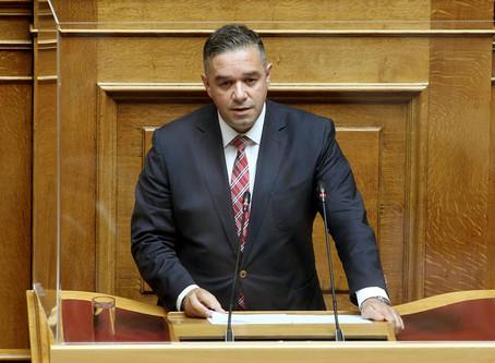 Επιχόρηγηση αθλητών και από τις Περιφέρειες με τροπολογία του Θ. Χειμάρα και συναδέλφων Βουλευτών