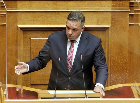 Τα περιστατικά παράνομων ελληνοποιήσεων κελυφωτού φιστικιού φέρνει στη Βουλή ο Θέμης Χειμάρας