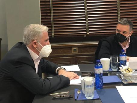 Συνάντηση με το Δικηγορικό Σύλλογο Φθιώτιδας για τα ζητήματα του κλάδου