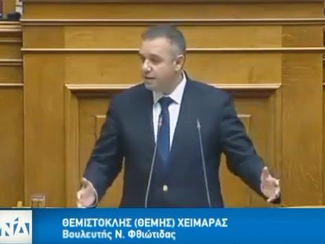 Ομιλία Θέμη Χειμάρα για το Νομοσχέδιο Επενδύω στην Ελλάδα