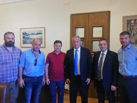 Συνάντηση Θέμη Χειμάρα με τον Υπουργό Αγροτικής Ανάπτυξης κ. Βορίδη