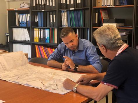 Στο εργοτάξιο της ΕΡΓΟΣΕ στο ΣΣ Λειανοκλαδίου ο Θ. Χειμάρας - Υπεγράφη η συμπληρωματική σύμβαση