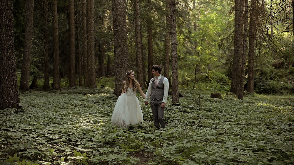 wedding into the woods , enchanted forest wedding