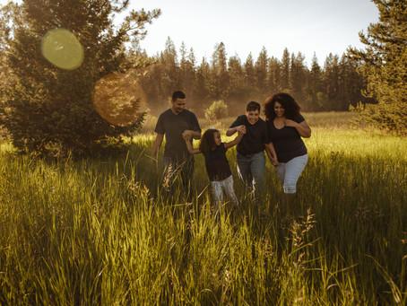 Candra & Family   Bear Lake   Chattaroy, Washington