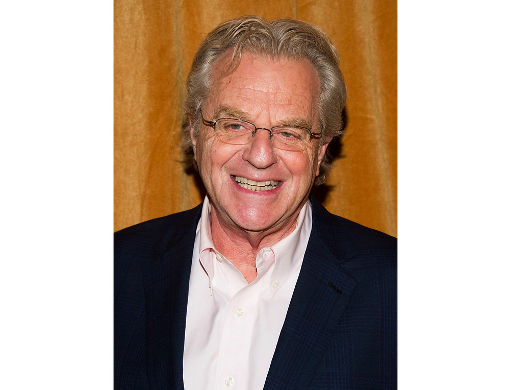 """FILE - In this Jan. 16, 2014 file photo, TV talk show host Jerry Springer attends the premiere of the Discovery Channel's """"Klondike"""" in New York. After more than 4,000 episodes of """"The Jerry Springer Show,"""" since 1991, Springer will stop making new ones. NBC Universal said this week that the CW and other networks that have bought the show in syndication will air reruns of the slugfest starting next fall. (Photo by Charles Sykes/Invision/AP, File)"""