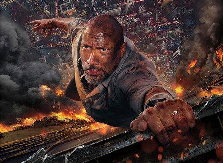 Review: In 'Skyscraper,' the Rock towers over action tropes