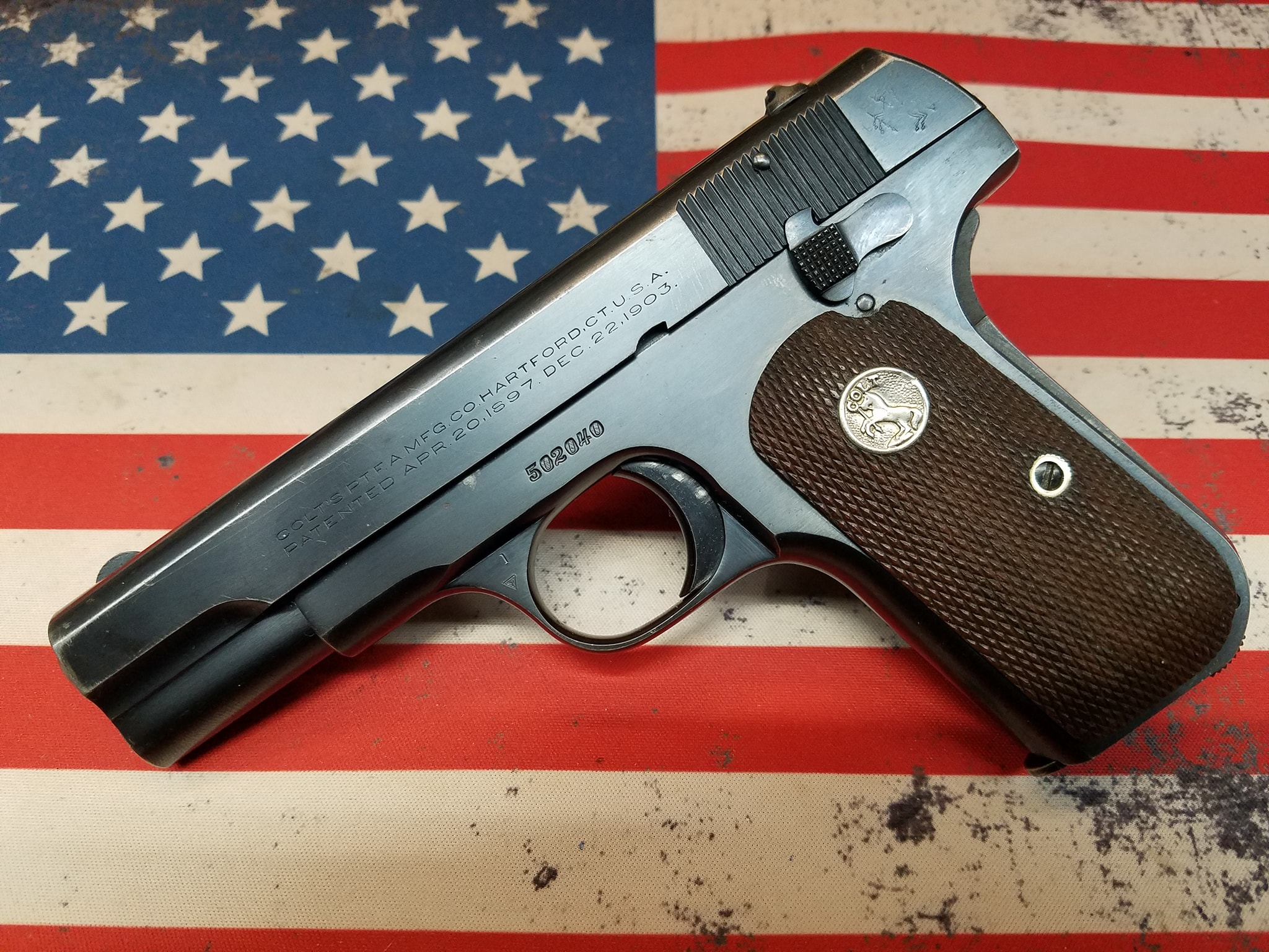 1930 Colt 1903 32acp