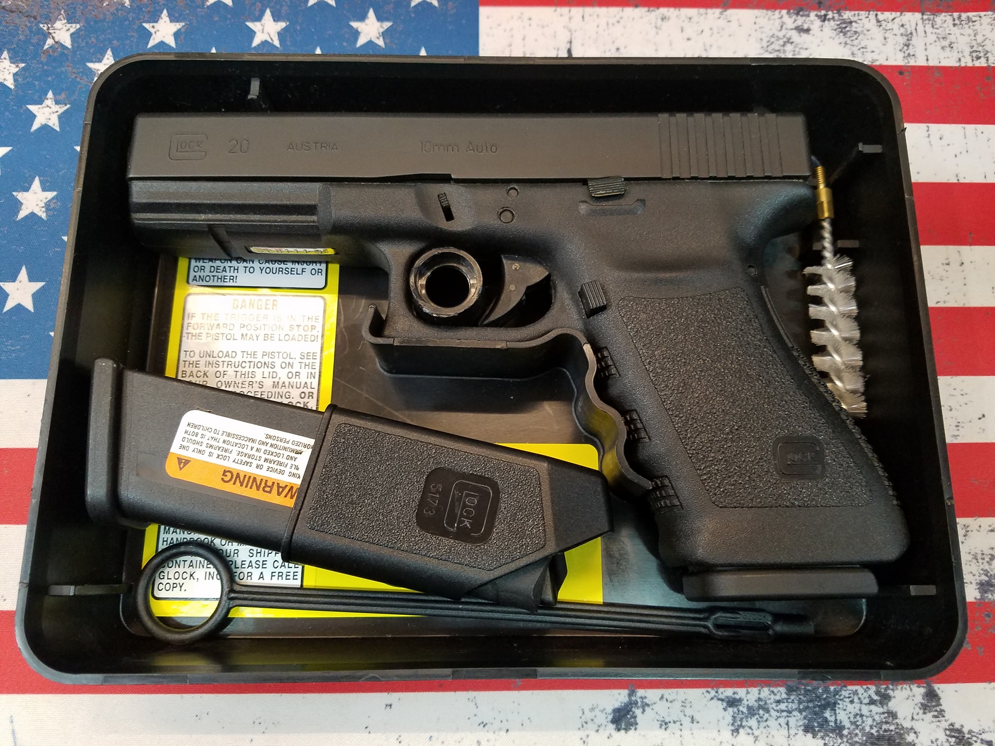Glock 20 Gen 3 10mm Tupperware