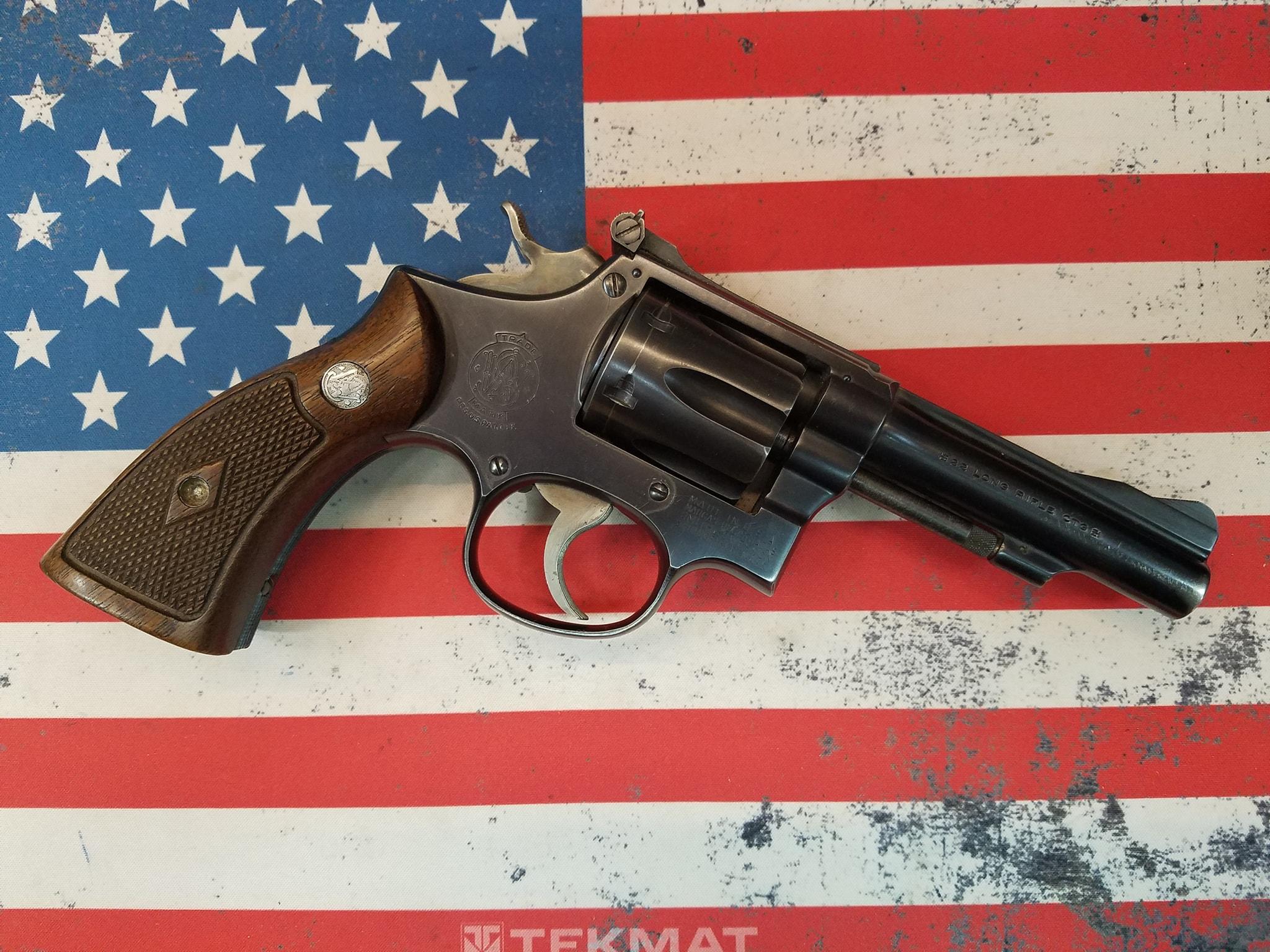 S&W K-22 Pre 18 22lr Revolver