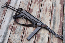 wwii German MP40 Dummy w/ Original Parts