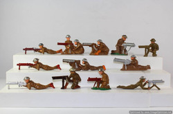 Military Lead Soldier Toys