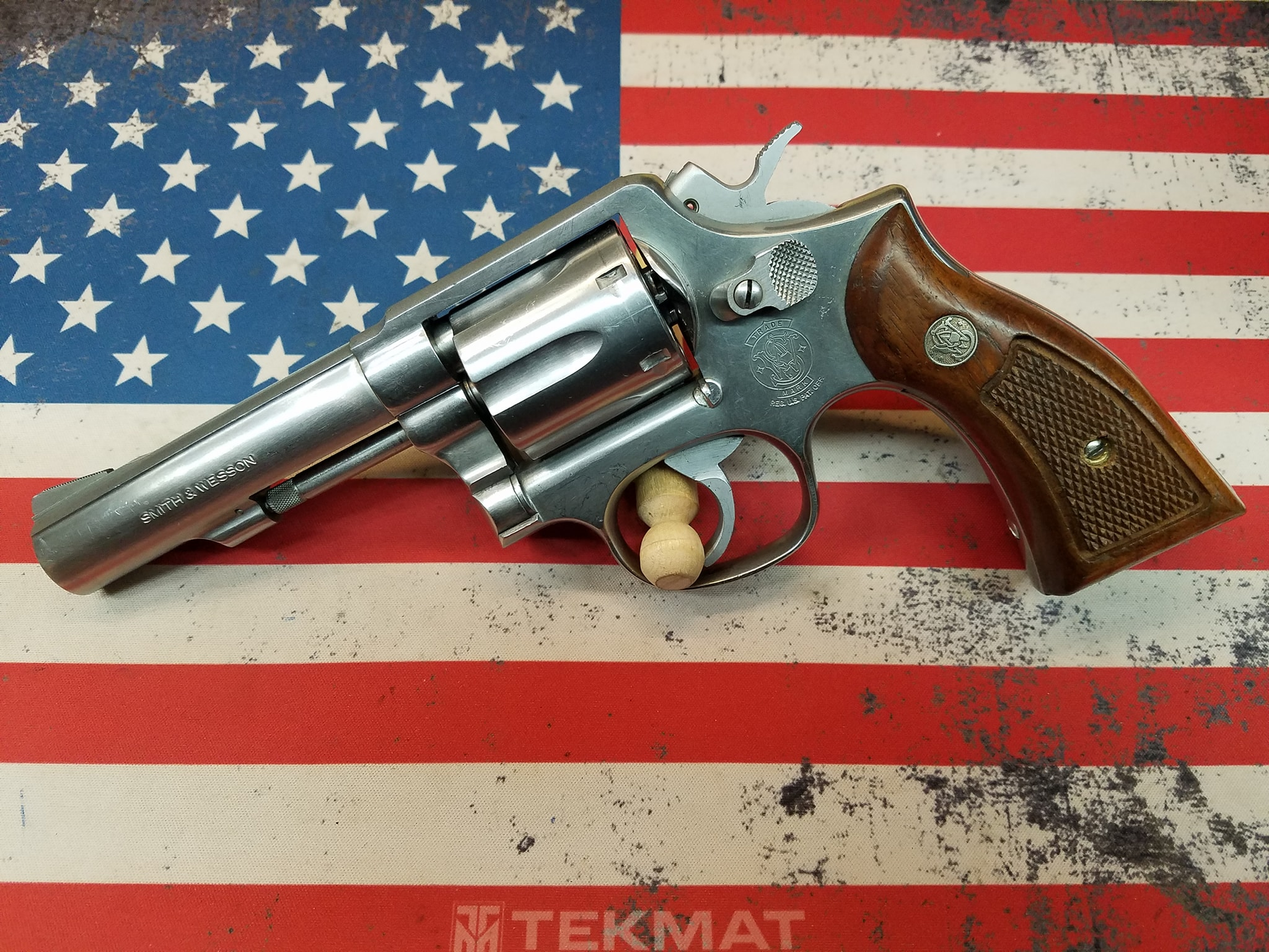 Smith & Wesson 64-5 38spl 4""