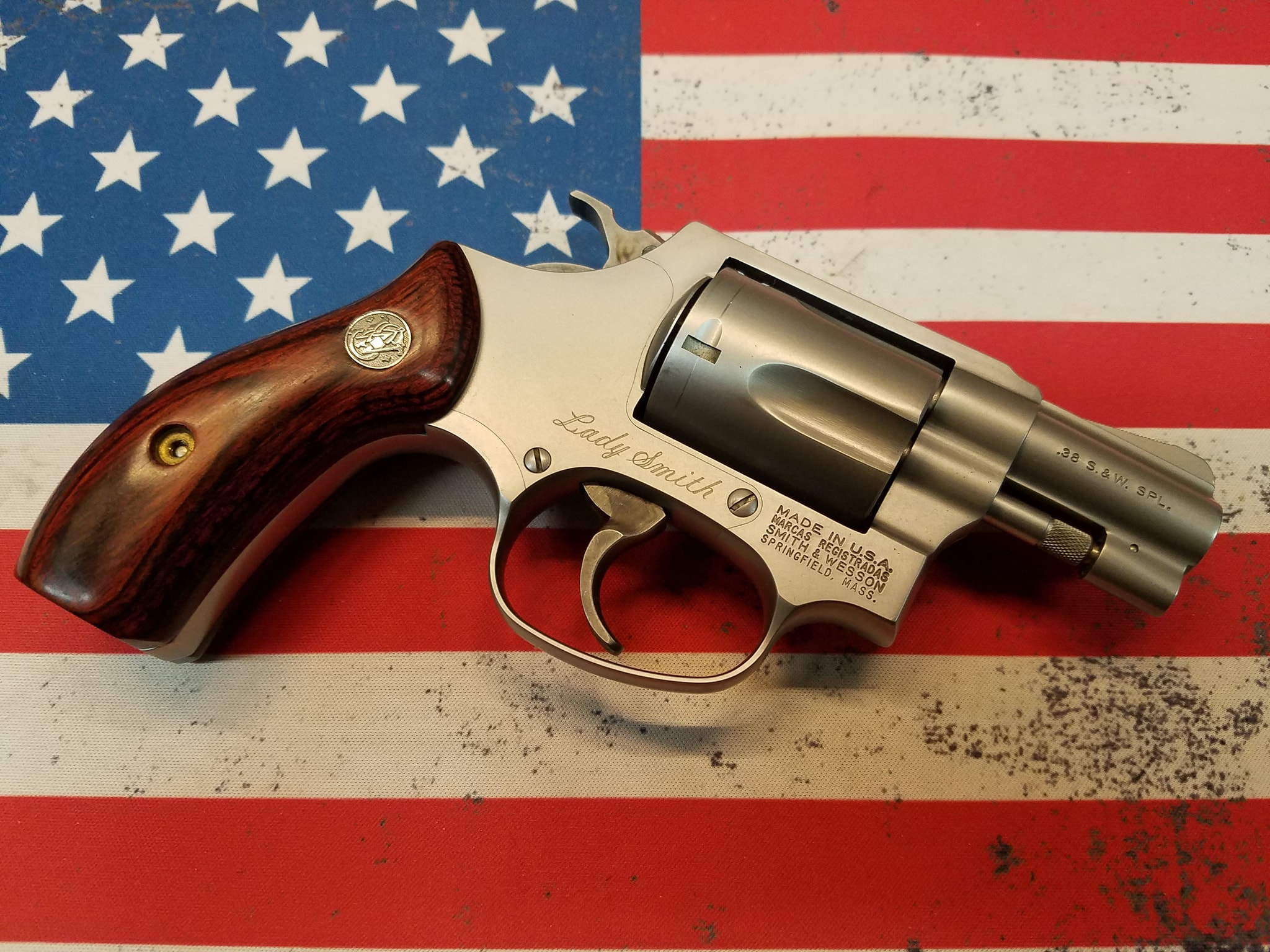 Smith Wesson Lady Smith 38spl