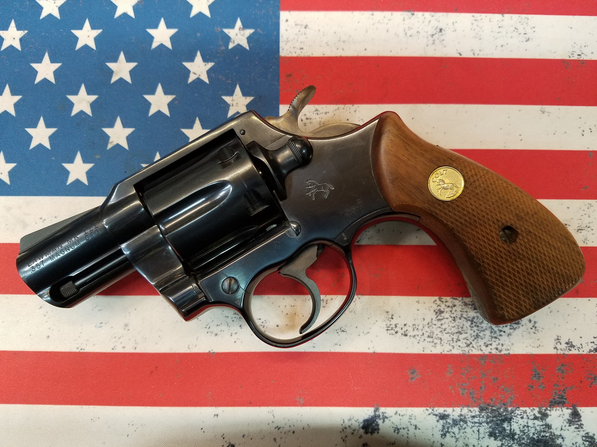 Colt Lawman MK III 357mag 2