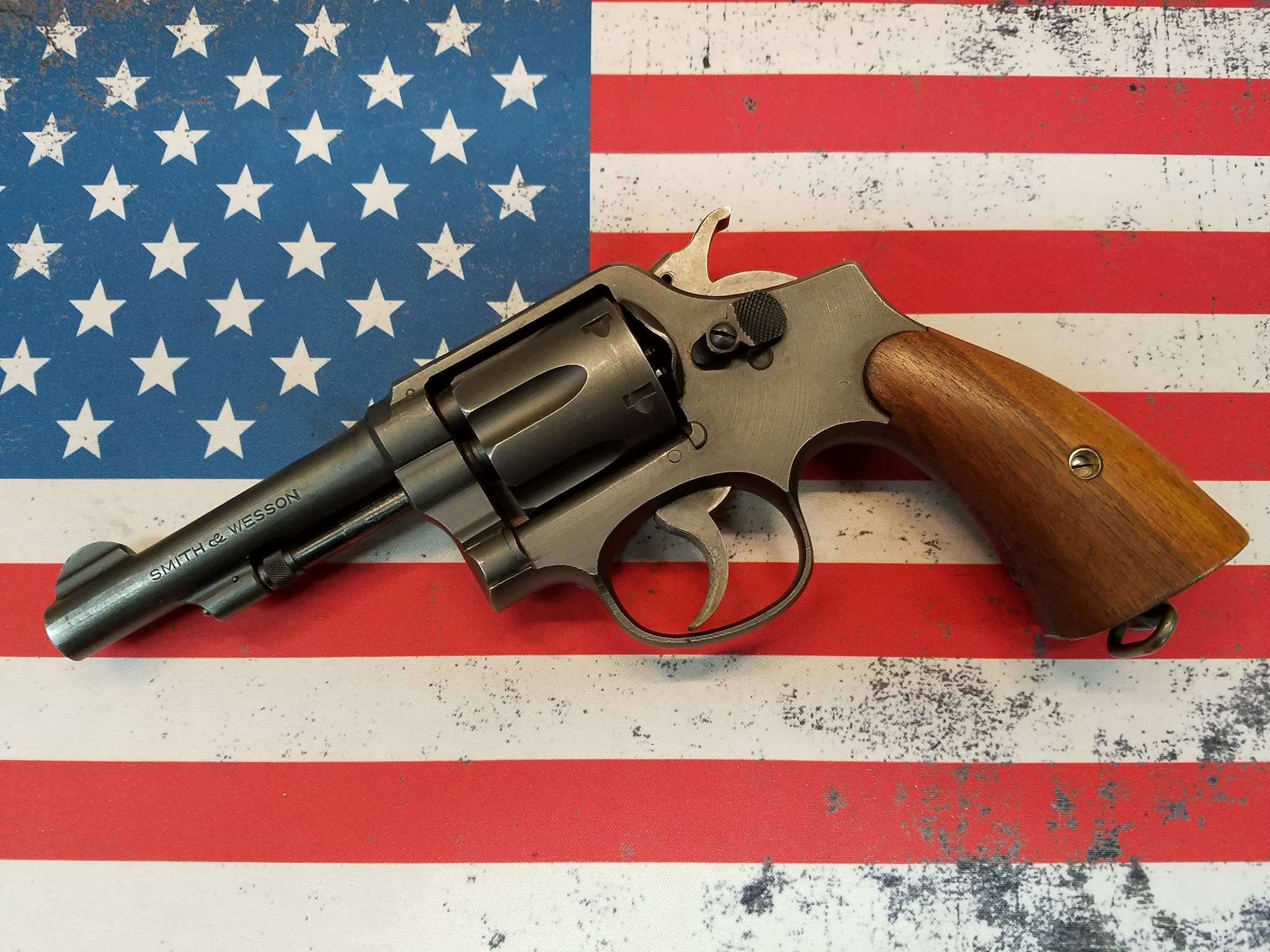 wwii Smith and Wesson Victory Revolver