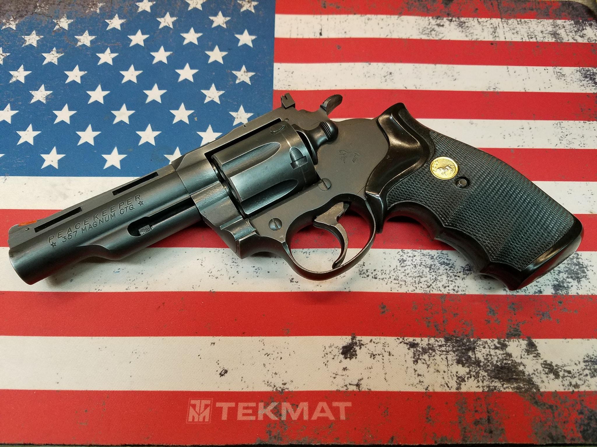 Colt Peacekeeper 357mag 1985 Maine