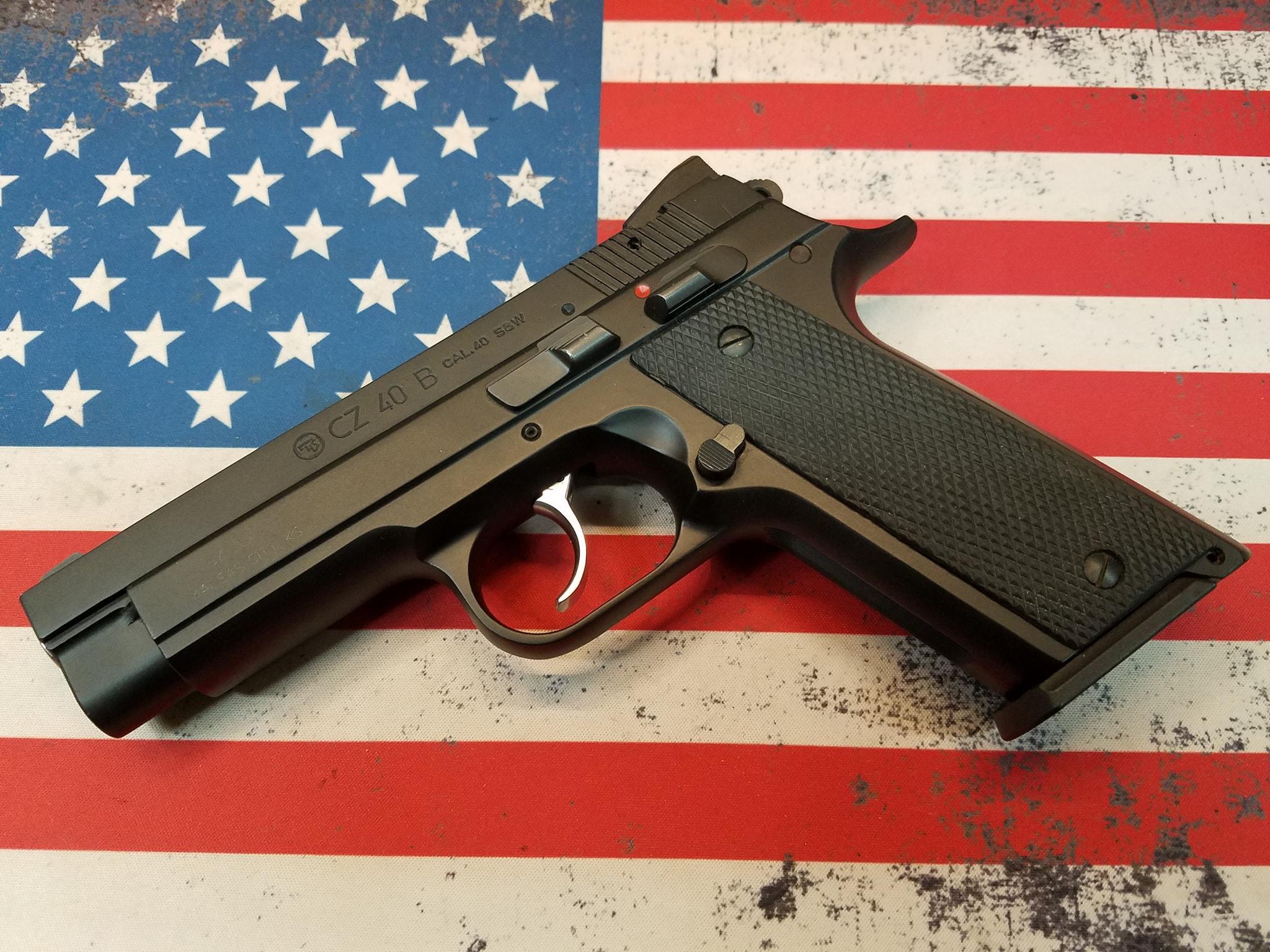 CZ 40B 40 B Colt Z40 Pistol Maine