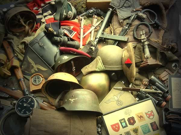 militaria bought and sold Maine