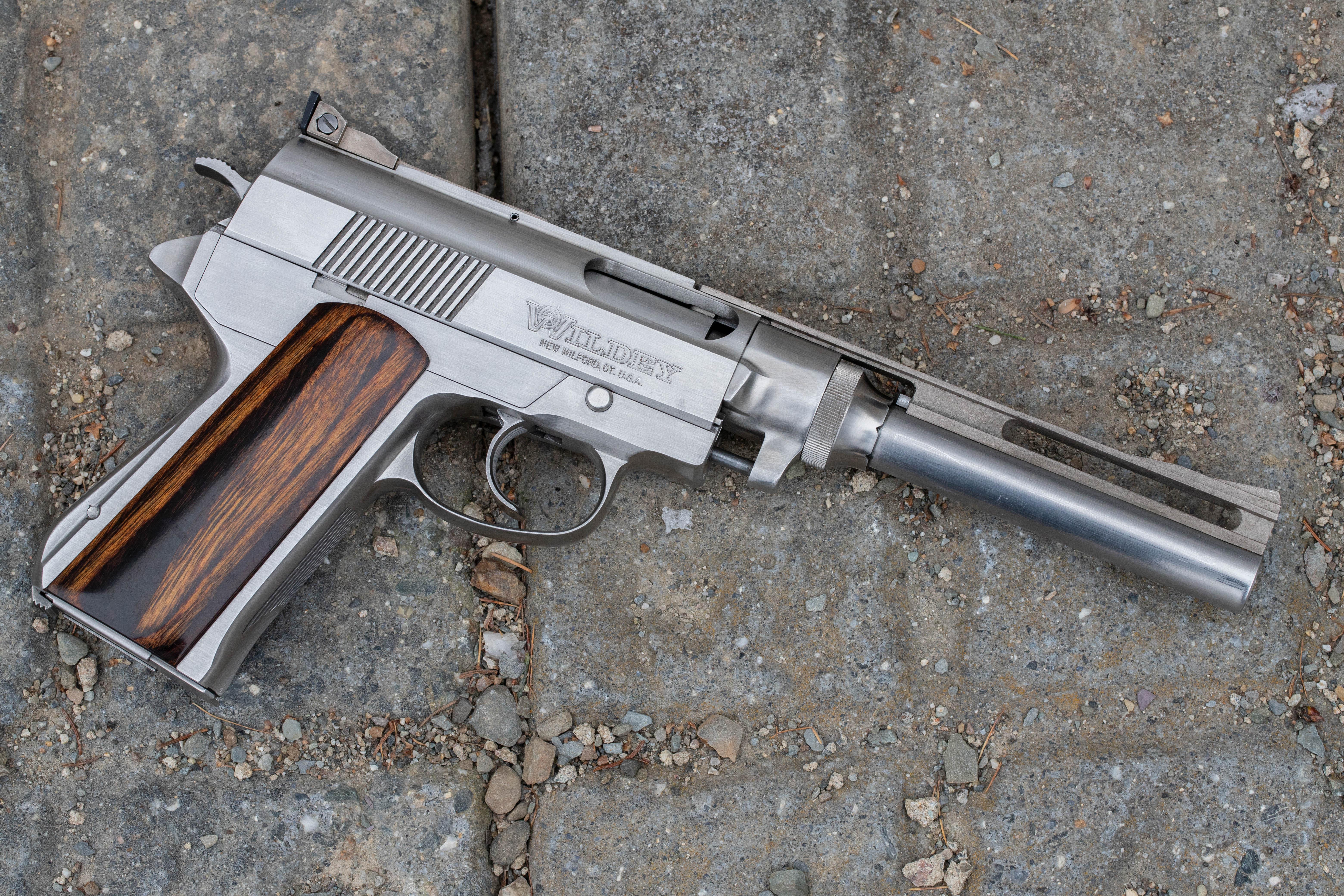 Wildey Auto Pistol 45 Winchester Magnum