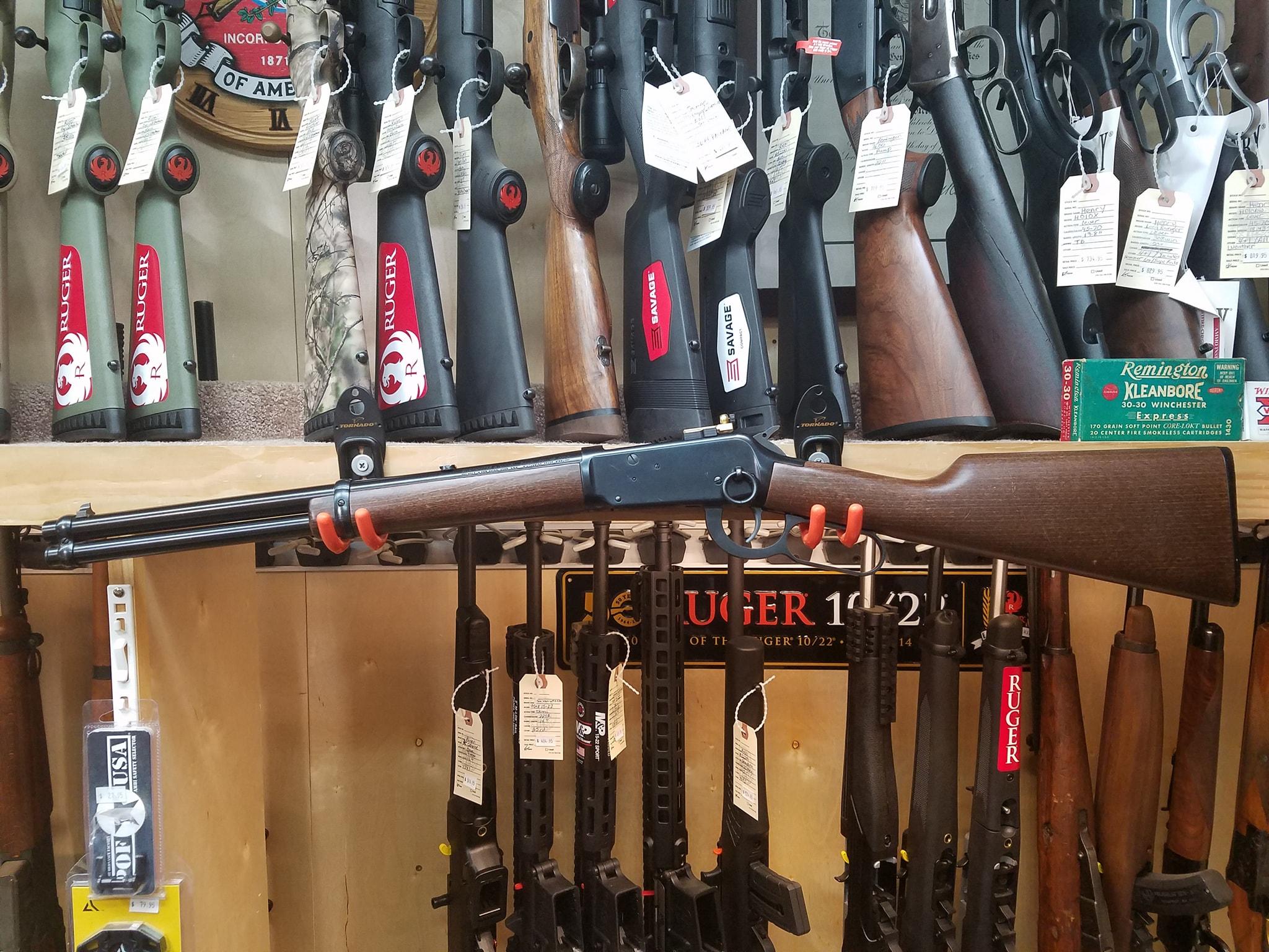 Winchester 94AE Trapper 45lc Maine