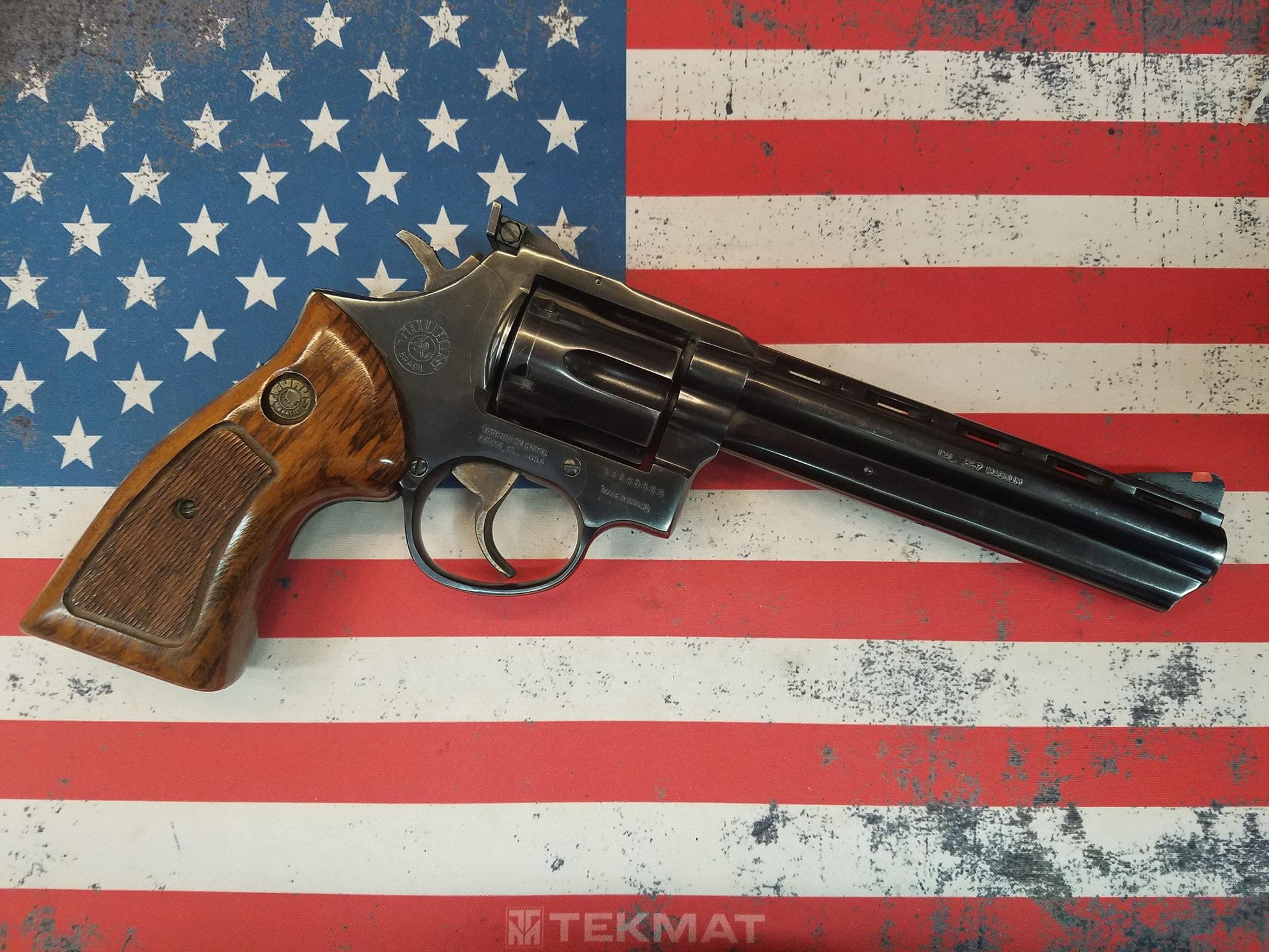 """Taurus 689 357mag 6"""" Revolver"""